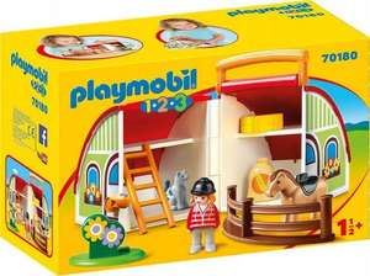 Playmobil Moja przenośna stadnina