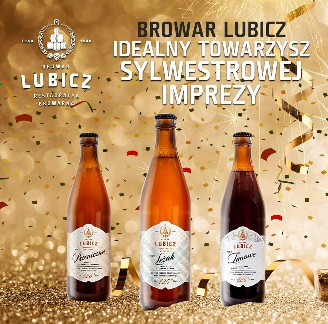Promocja na piwo - Browar Lubicz - dodatkowe 10% i darmowa dostawa kurierem