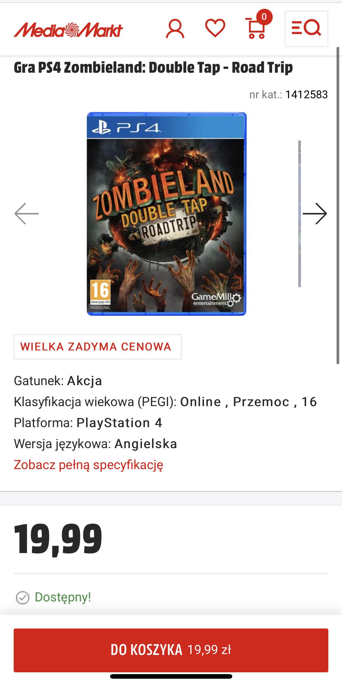 Zombieland PS4 MediaMarkt