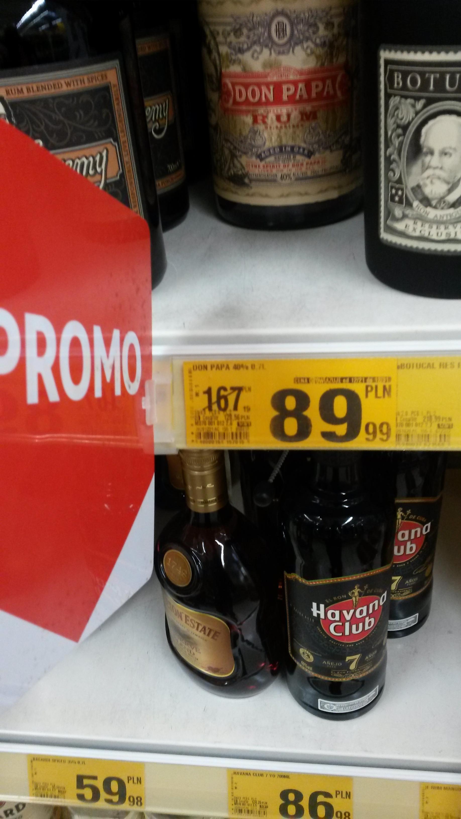 Rum DON PAPA Auchan Lublin Felecity