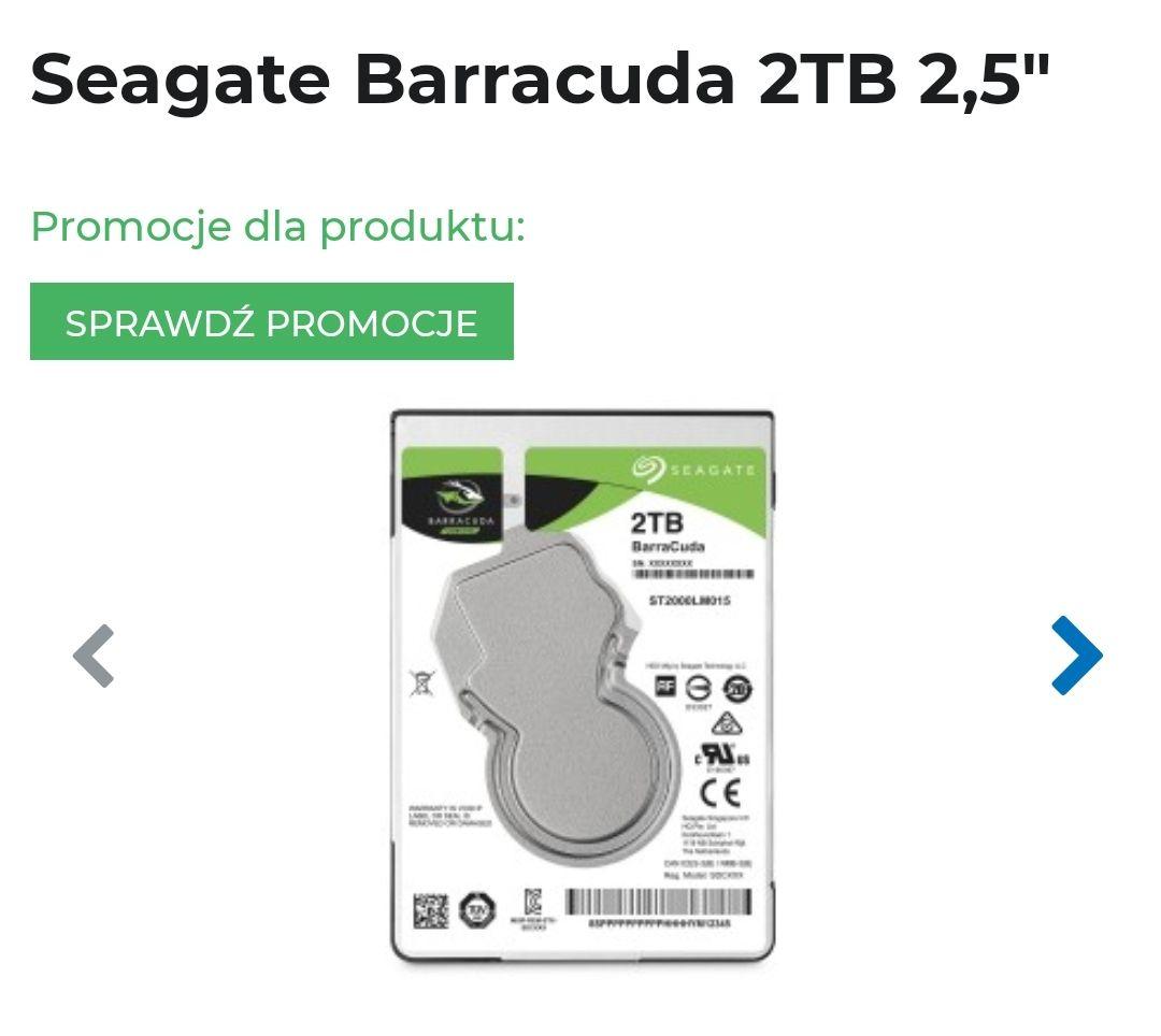 Dysk HDD SEAGATE BarraCuda 2 TB ST2000LM015