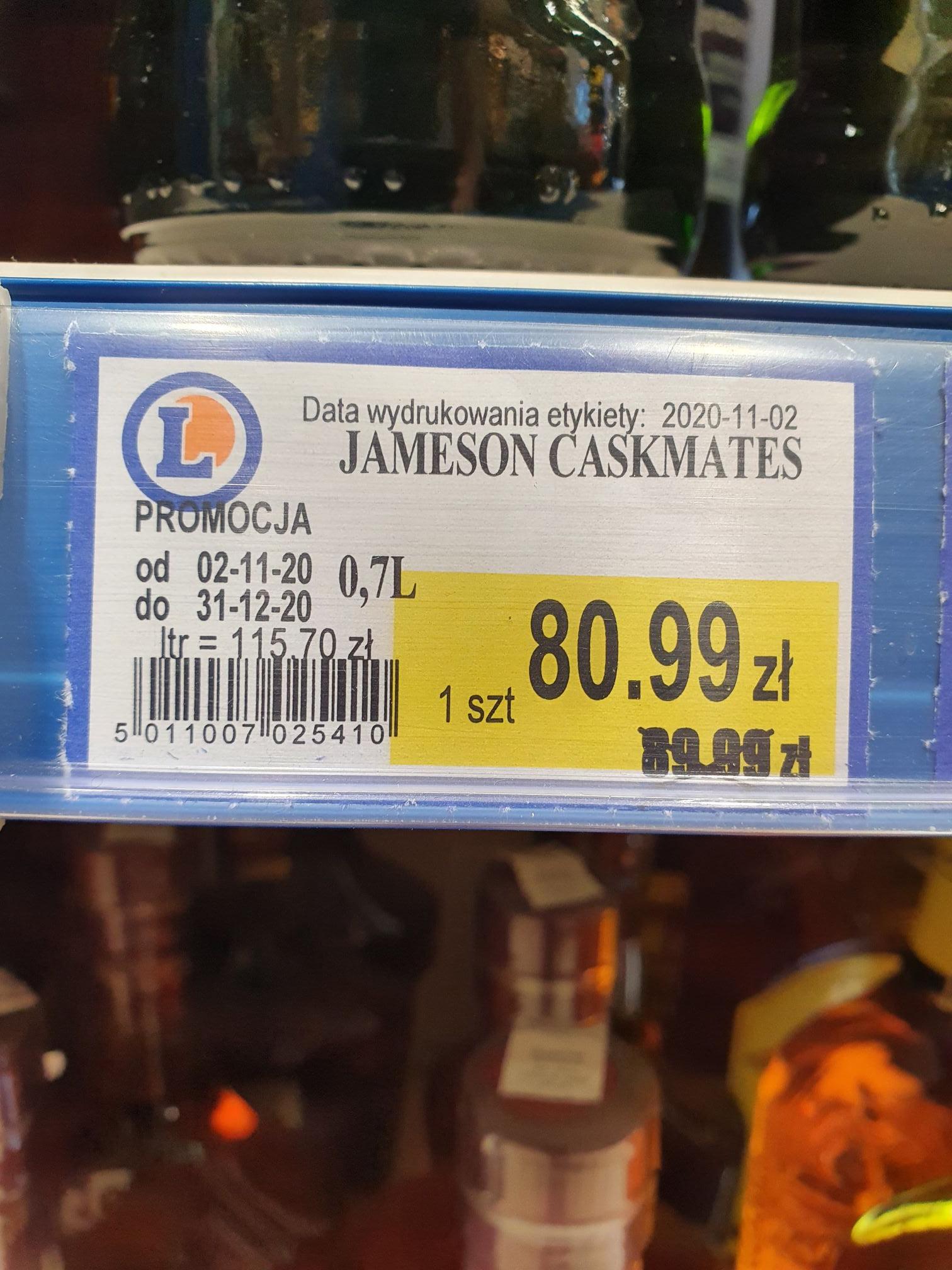 Jameson Caskmates