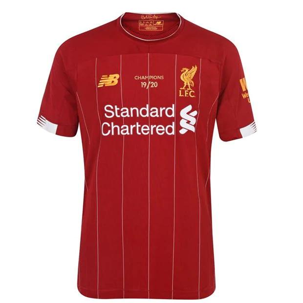 New Balance - oryginalna koszulka meczowa Liverpool 19/20