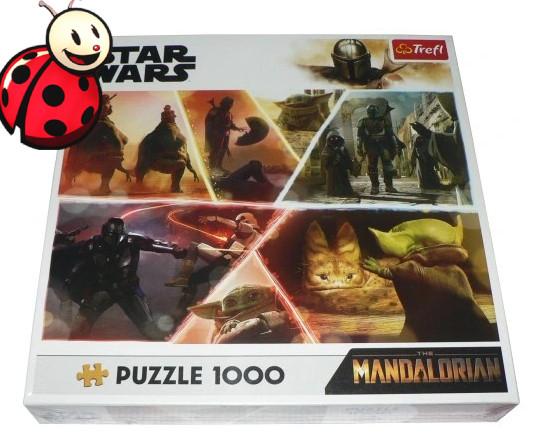 BIEDRONKA Puzzle TREFL 1000 - Mandalorian STAR WARS