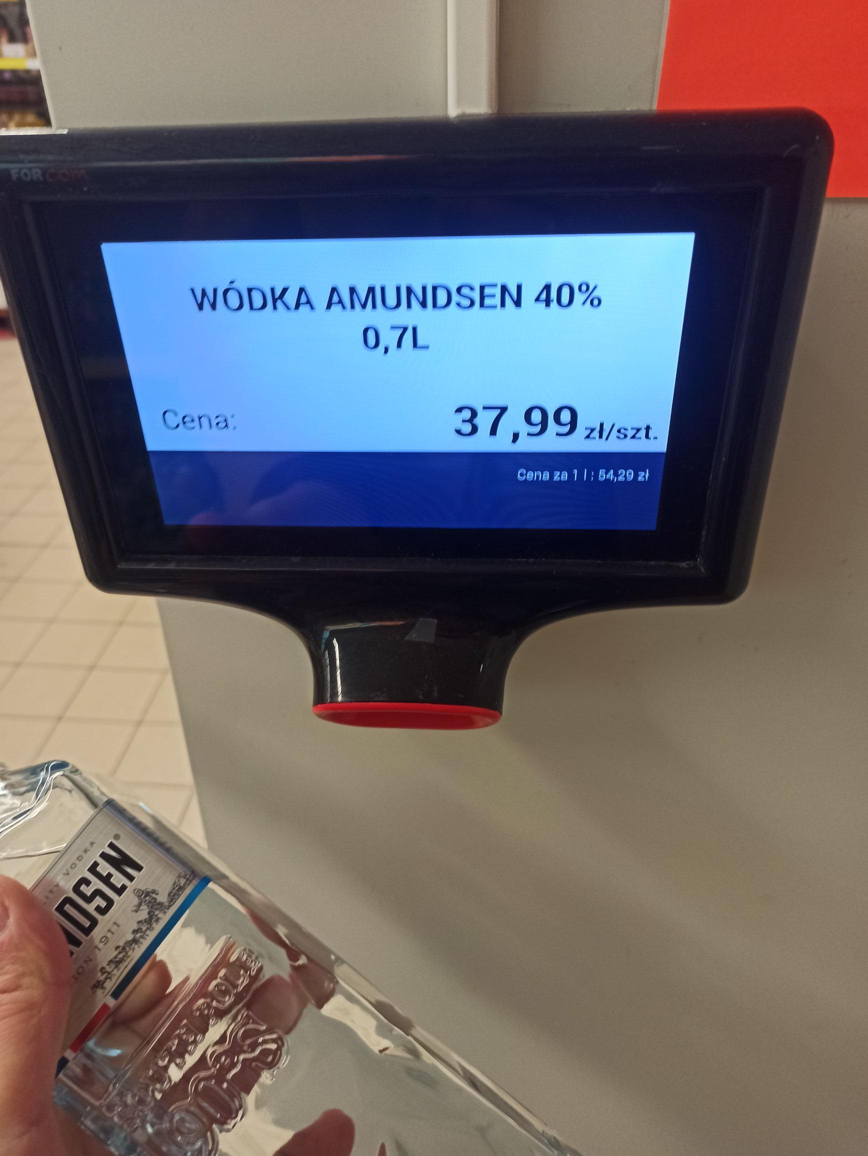 Wódka Amundsen 0.7 l Biedronka