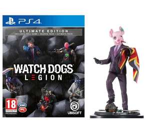 Watch Dogs Legion - Edycja Ultimate + figurka PS4 / PS5