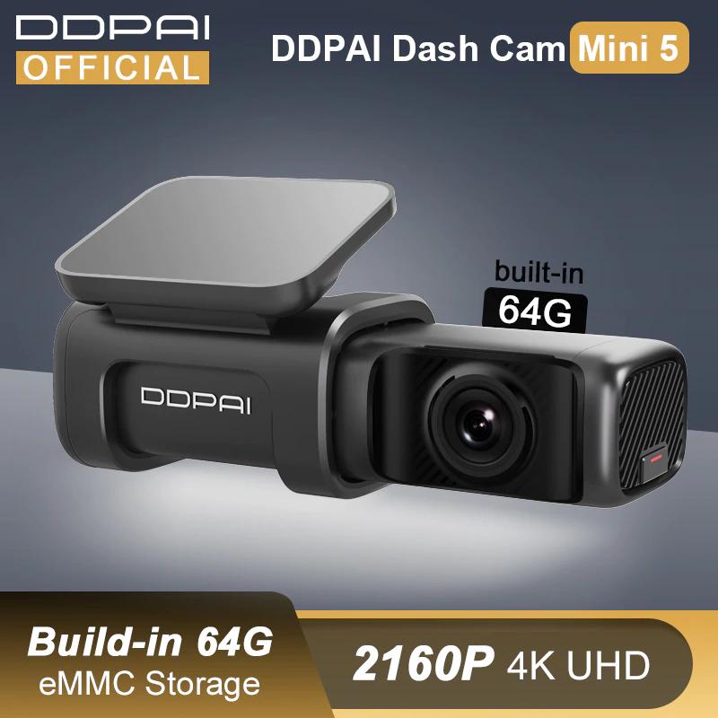 DDPAI Mini 5 UHD 4K 2160P kamera samochodowa z dostawą z Polski