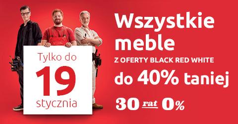 Black Red White do -40%