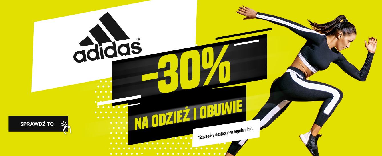 adidas minimum -30% (możliwe jeszcze -10%)