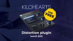Kilohearts Distortion plugin (vst)