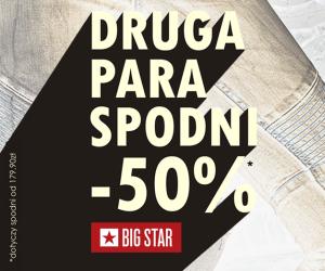 Druga para spodni za -50% @ Big Star