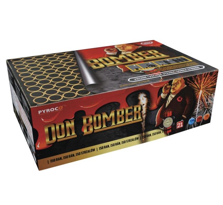 """FAJERWERKI Bateria 150-strzałowa """"Don Bomber"""""""