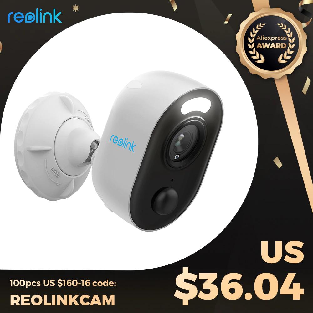 Reolink Lumus 1080p - Ma reflektor, WiFi, Full HD, zewnętrzny kolorowy noktowizor, detekcje ruchu PIR i dwustronną komunikacje 34,04 USD