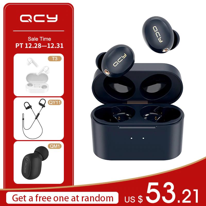 QCY HT01 za 51,21$ przy zakupie 1 pary dostajemy qcy T3, qy11 lub qm1 gratis