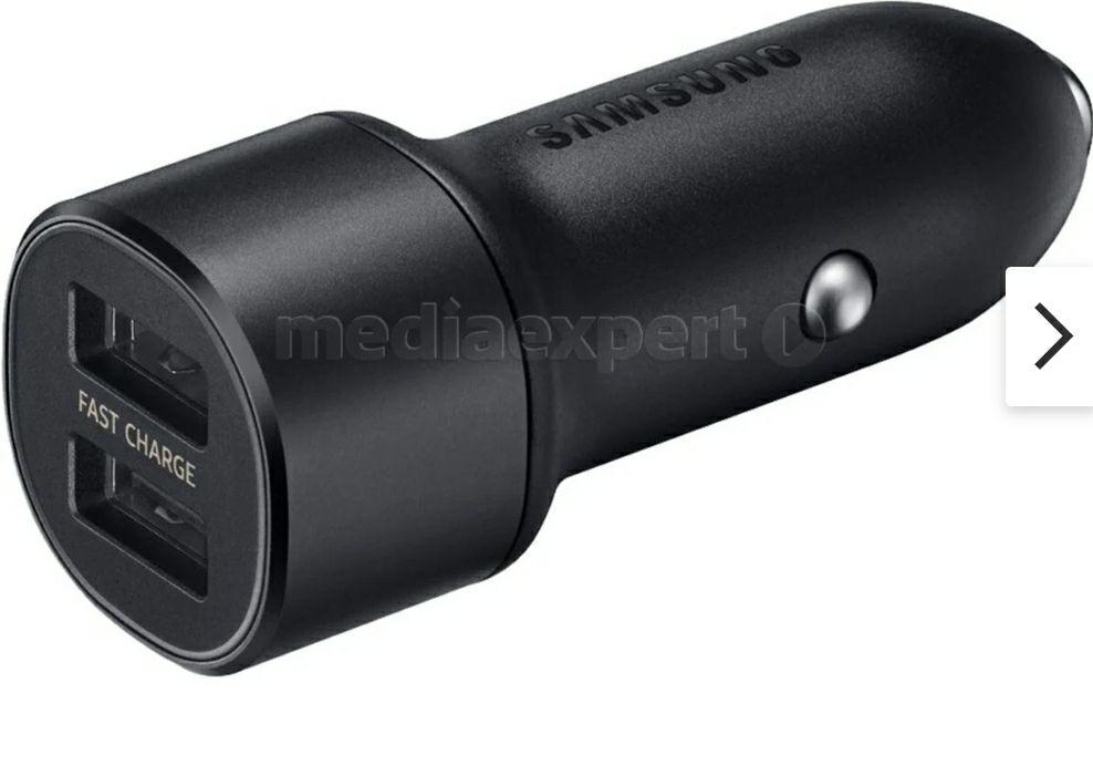 Ładowarka samochodowa Samsung 2xUSB Fast charge