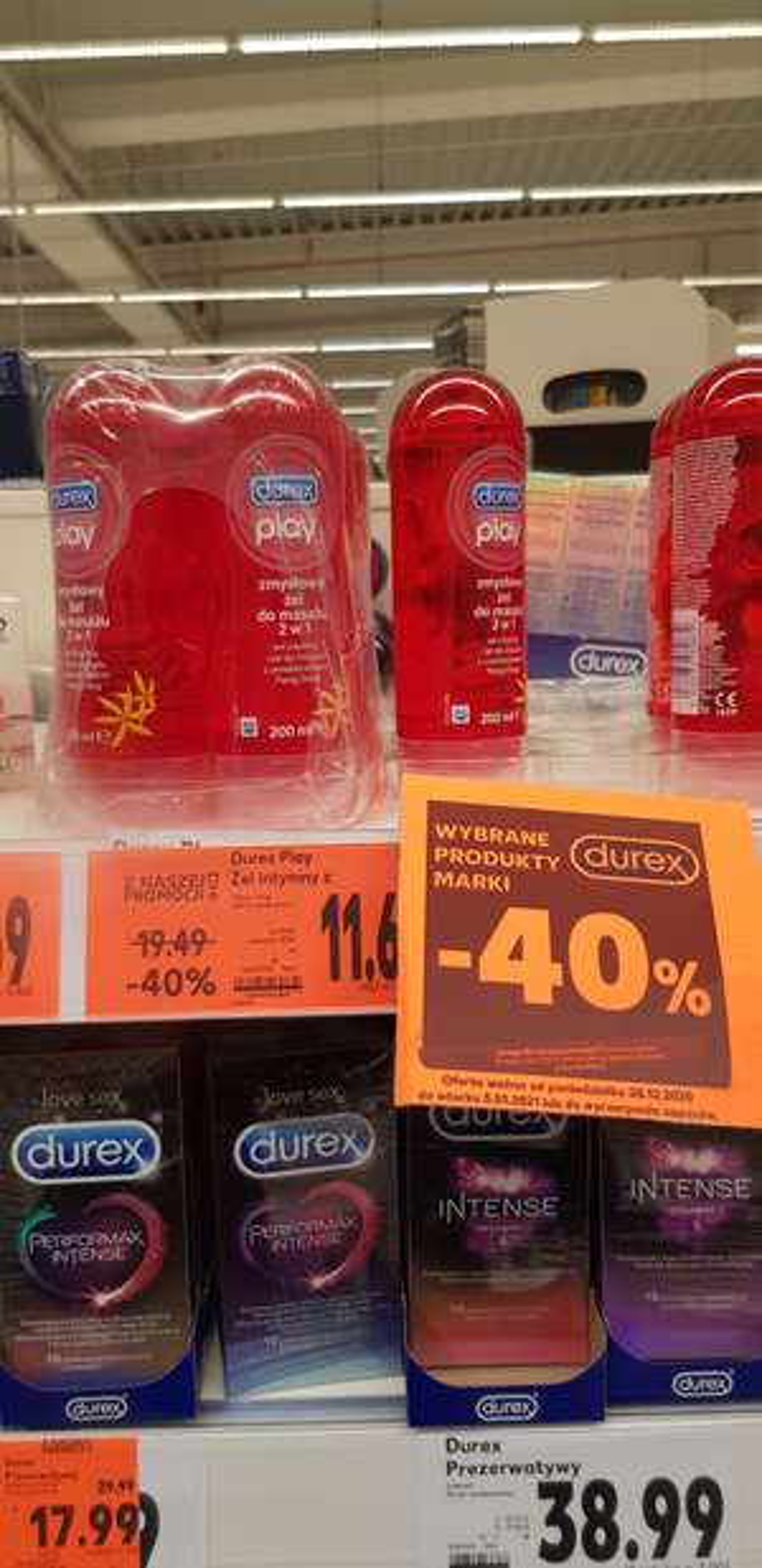 Wybrane produkty marki Durex -40%