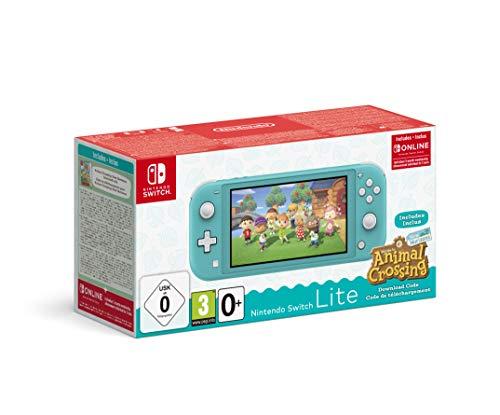 Konsola NINTENDO Switch Lite Turkusowa + Animal Crossing: New Horizons (cyfrowa) + Nintendo Switch Online 3 mies.