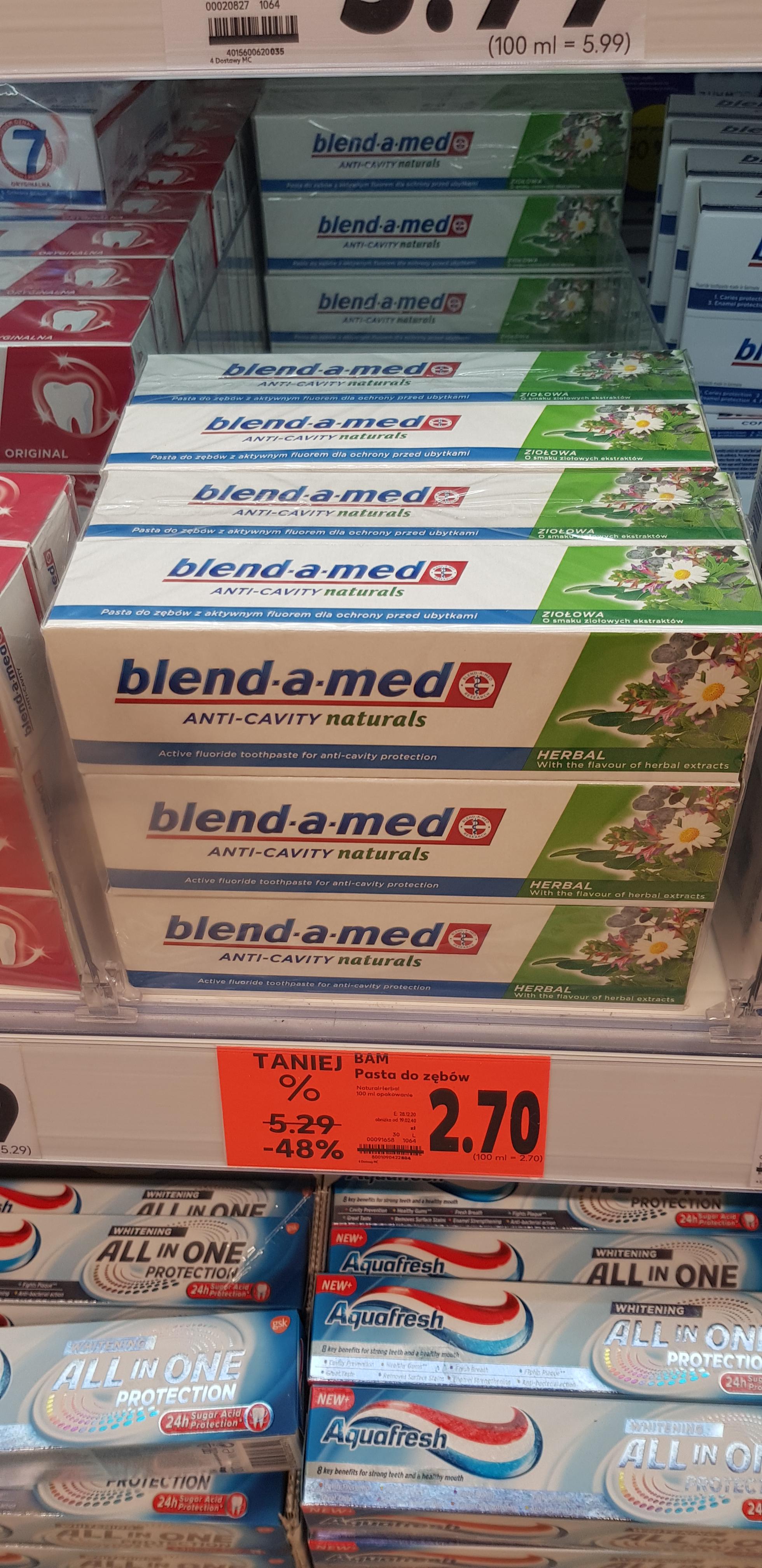 Pasta blend A med herbal 2,70 -49%