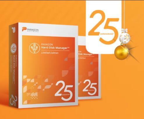 PARAGON Hard Disk Manager 25th Anniversary DARMO