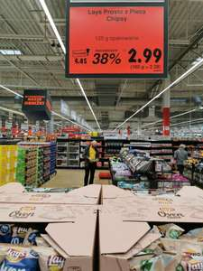 Kaufland - Chipsy Lays Oven Baked