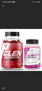TREC CLENBUREXIN II +Trec Nutrition - L-Carnitine Softgel