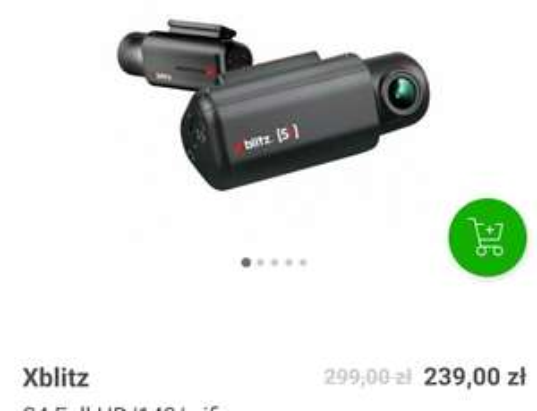 Kamera samochodowa Xblitz S4 Full HD/140/wifi