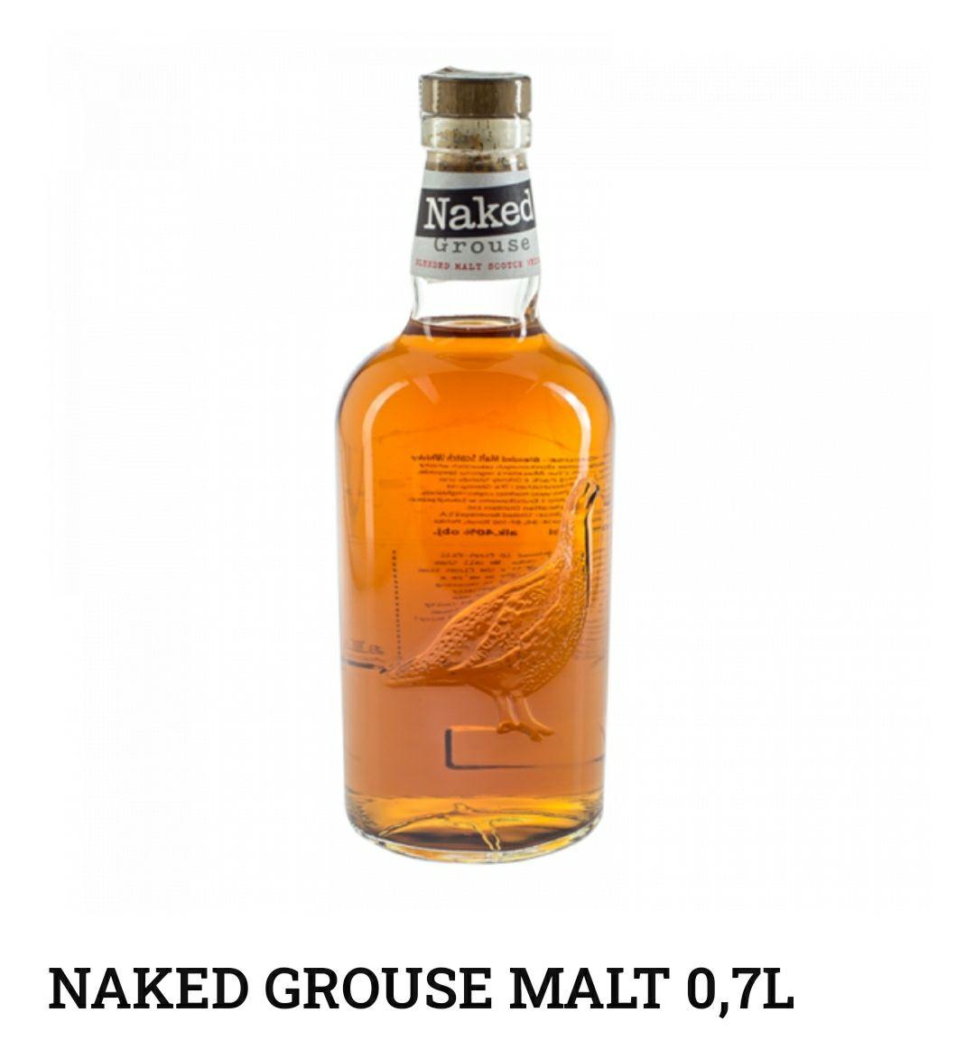 Whisky Naked Grouse 0,7 La Cave