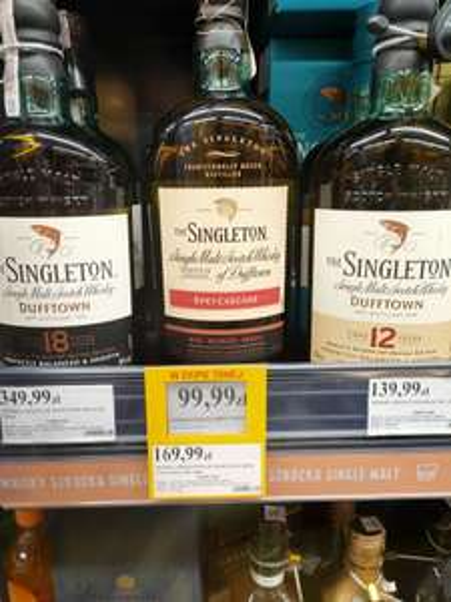 Whisky Singleton SPEY CASCADE 0,7L