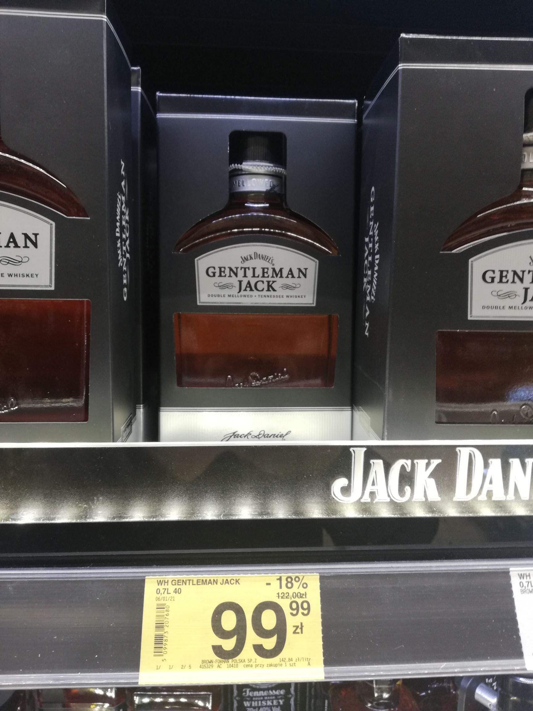 Jack daniels Gentleman Jack 0,7