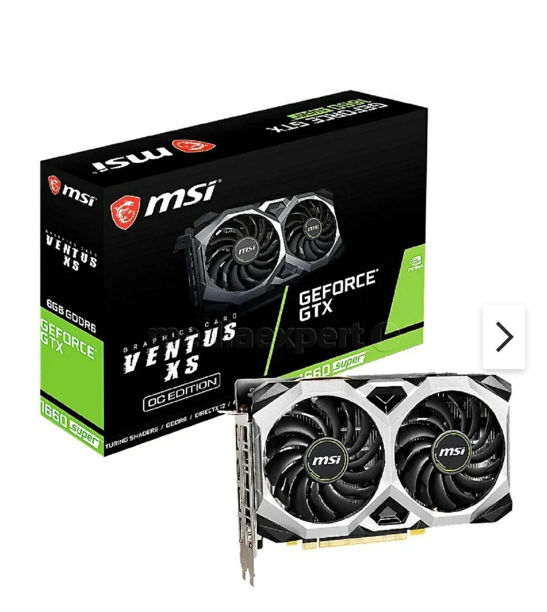 Karta graficzna MSI GeForce GTX 1660 Super Ventus XS OC 6GB