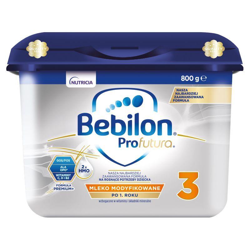 Bebilon profutura 3 mleko modyfikowane pow. 1 r.ż.