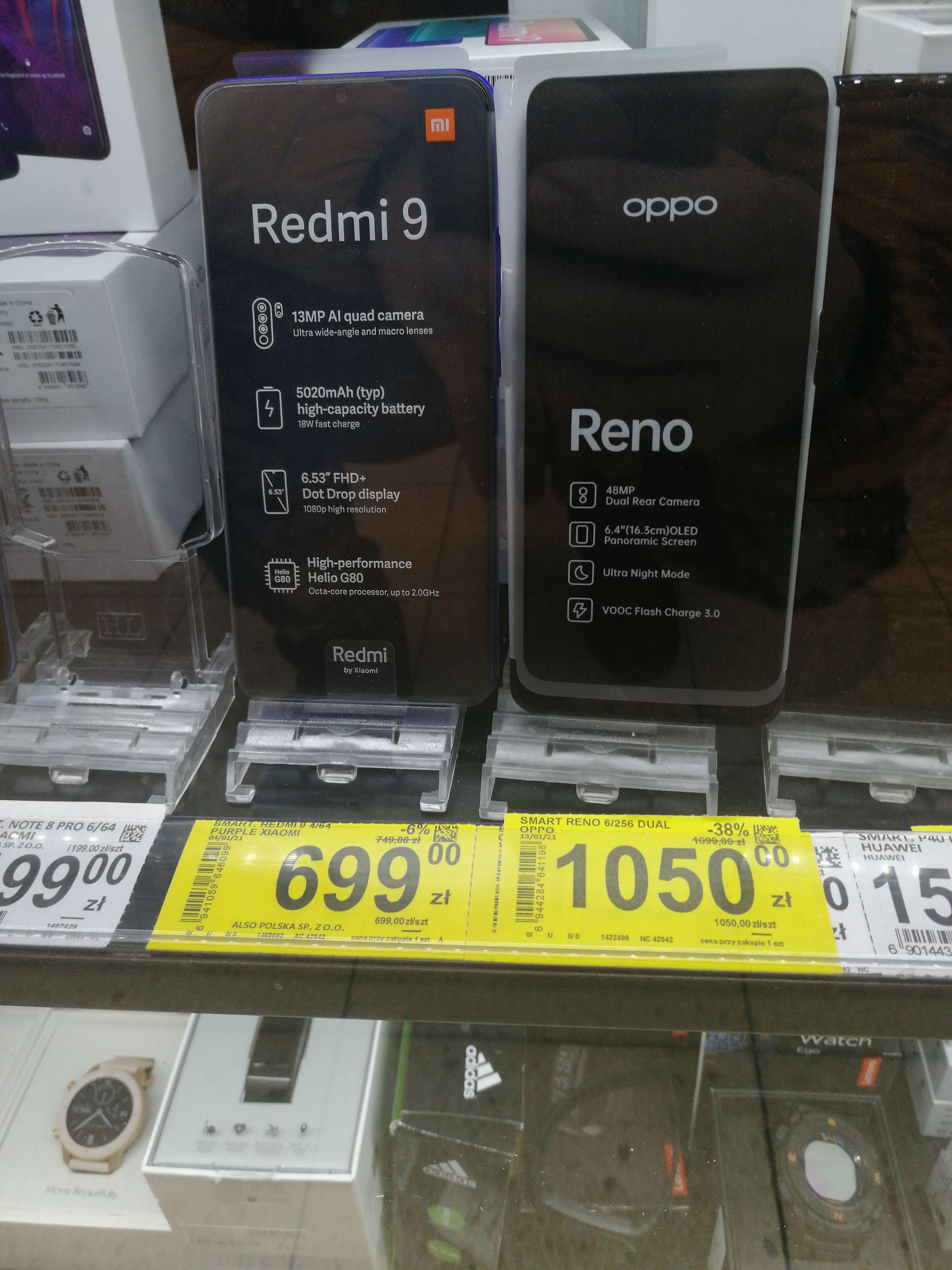 Oppo Reno 6 /256 Carrefour AKS