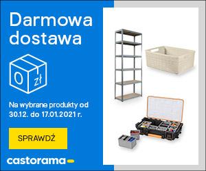 Darmowa dostawa na produkty z kategorii PRZECHOWYWANIE w @Castorama