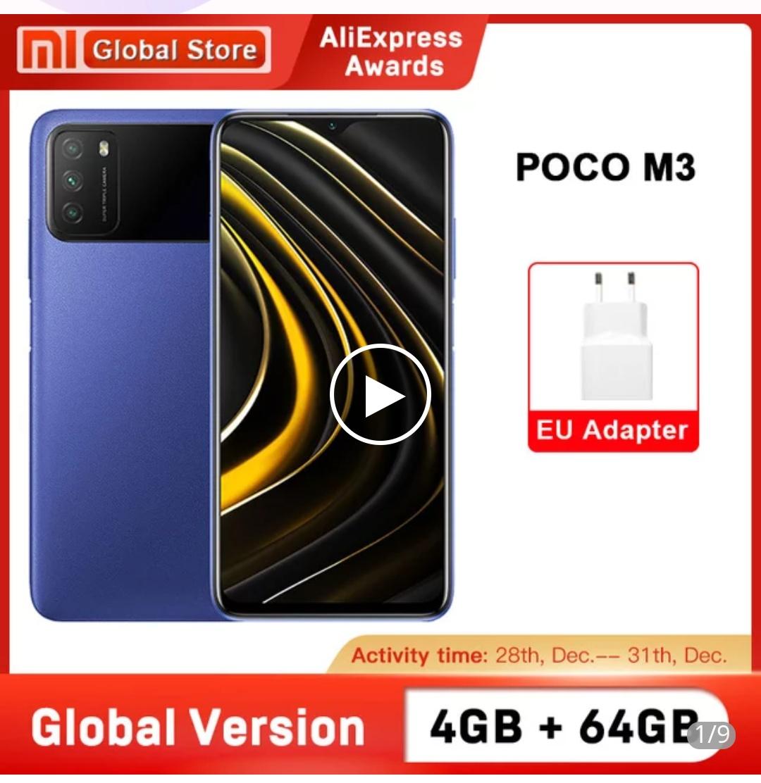 Poco M3 4/64GB z Turcji @Aliexpress