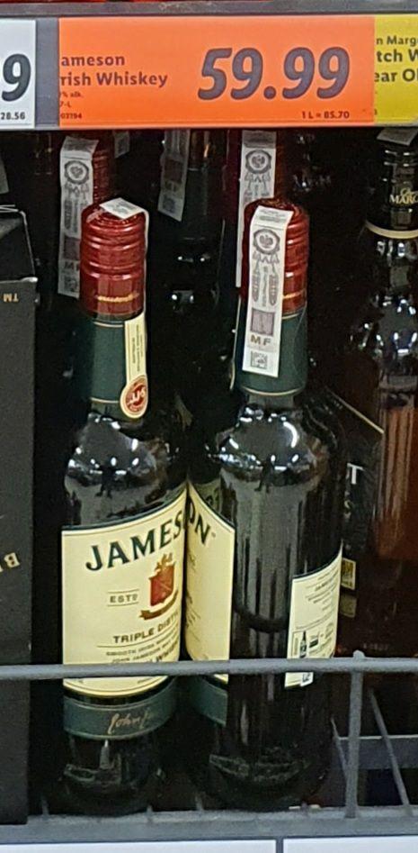 Whisky whiskey JAMESON 0.7 L