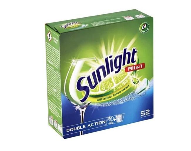 Tabletki do zmywarki SUNLIGHT All In 1 52 szt.