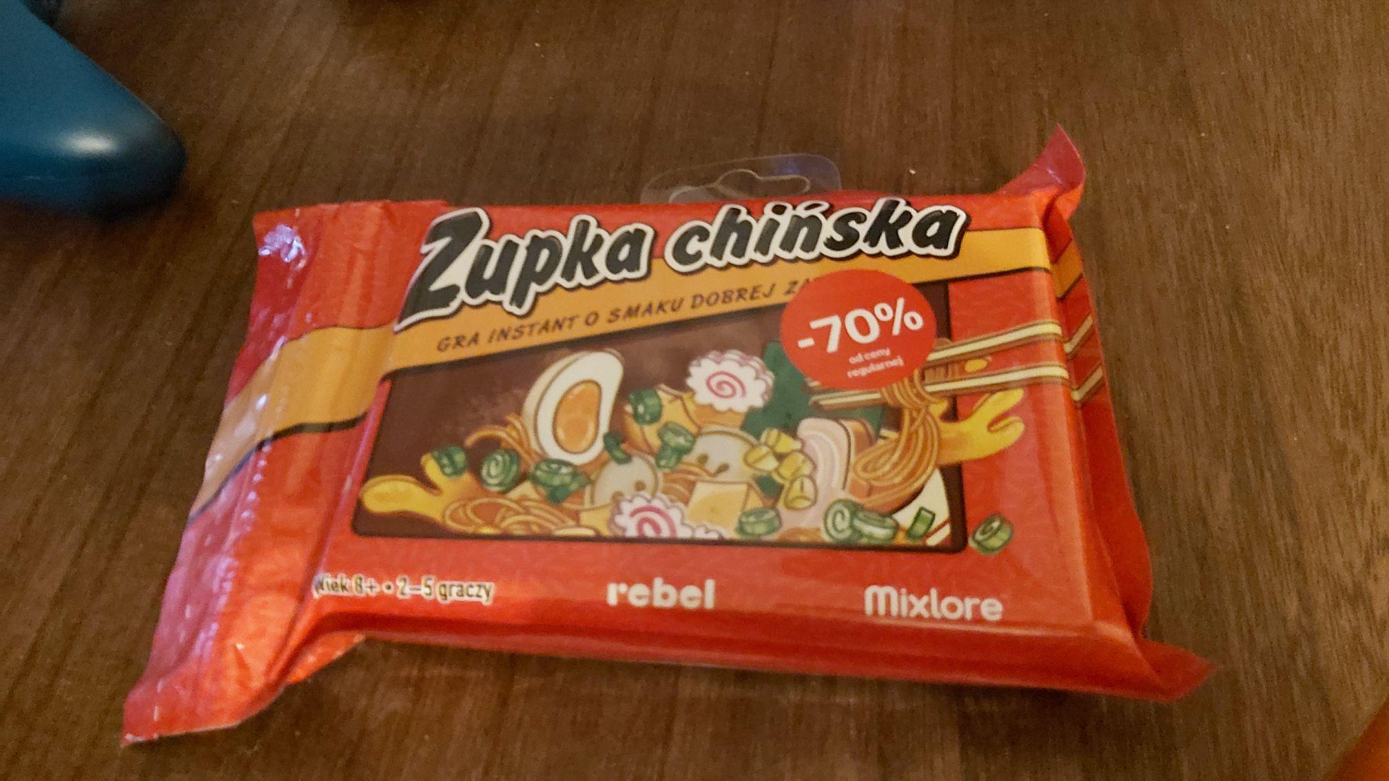 Zupka chińska - gra karciana na przecenie w Empiku