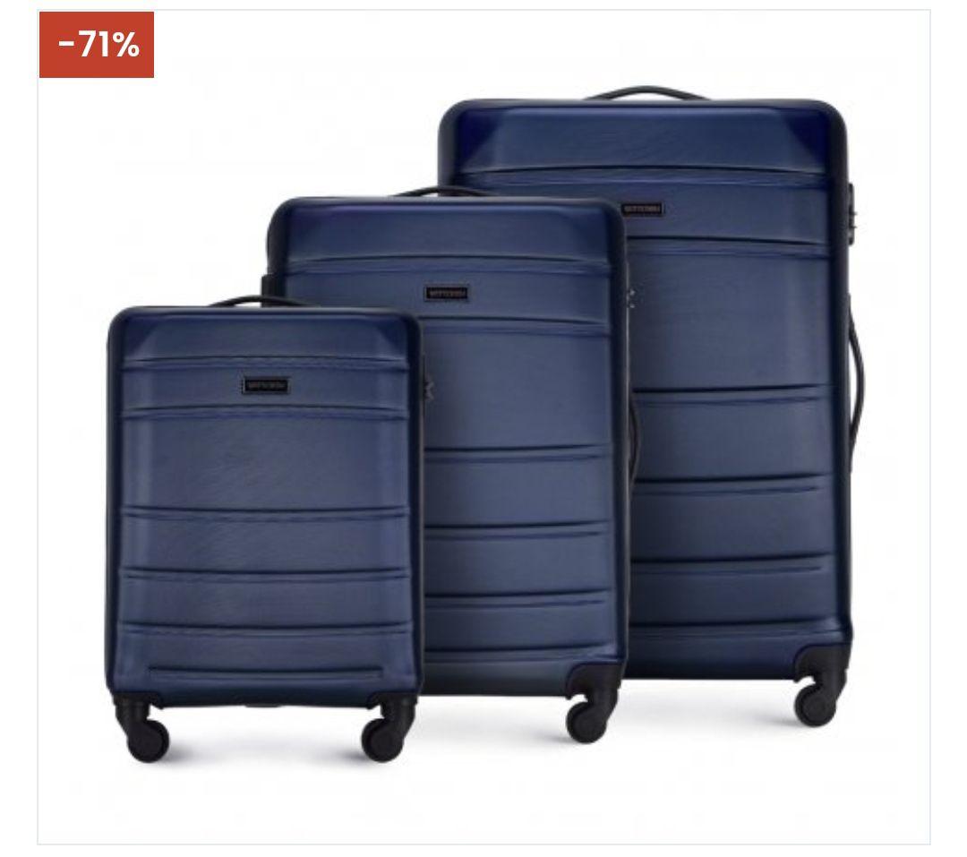 Zestaw walizek Wittchen 3 lub 4 szt + produkt za 1 zł