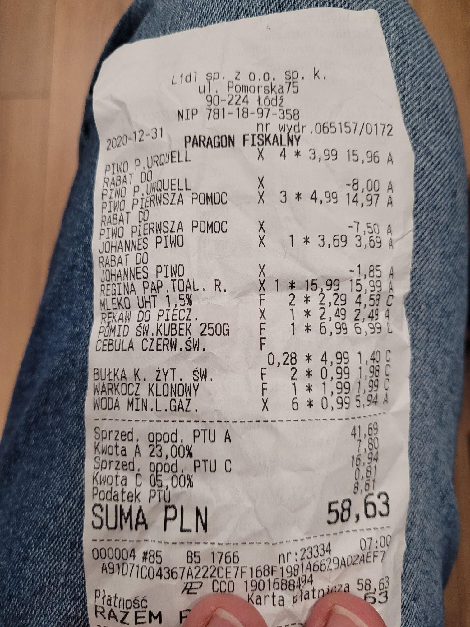 Cisowianka 1,5l lekko gazowana Lidl