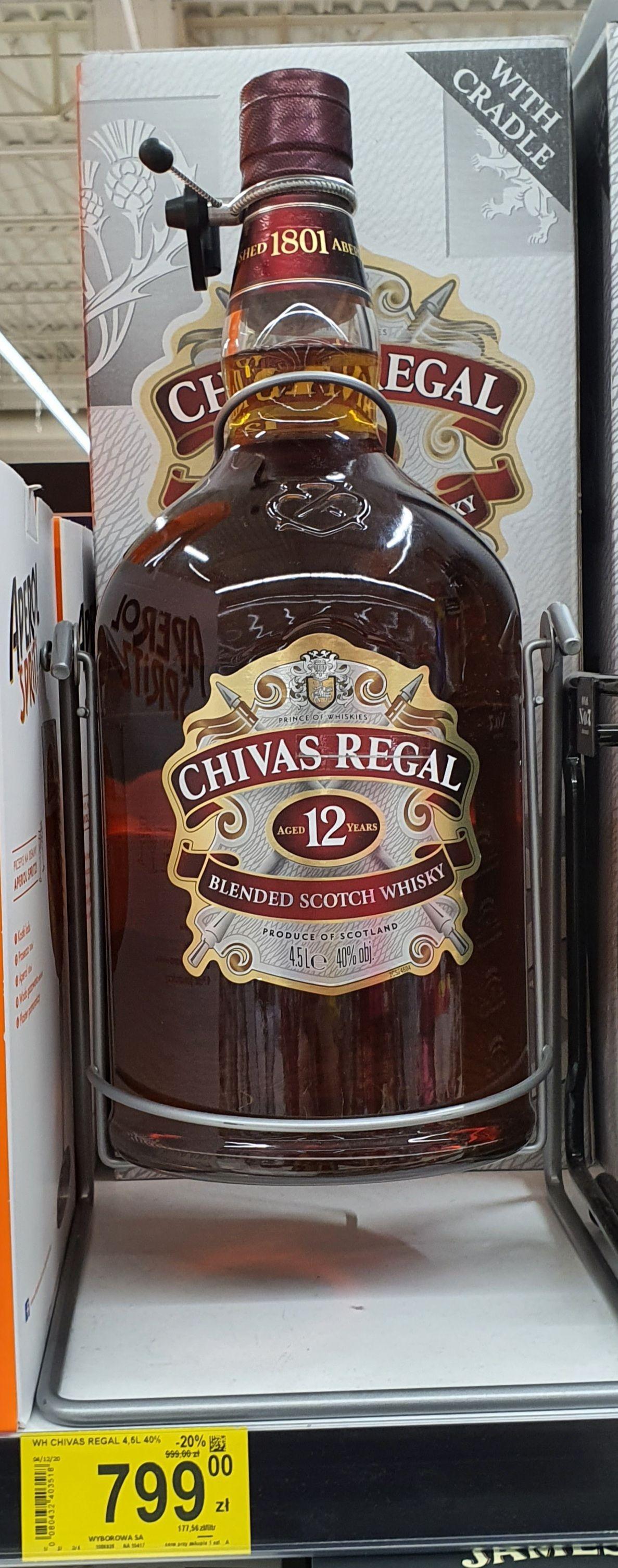 Chivas Regal 12 4,5l Carrefour Gliwice