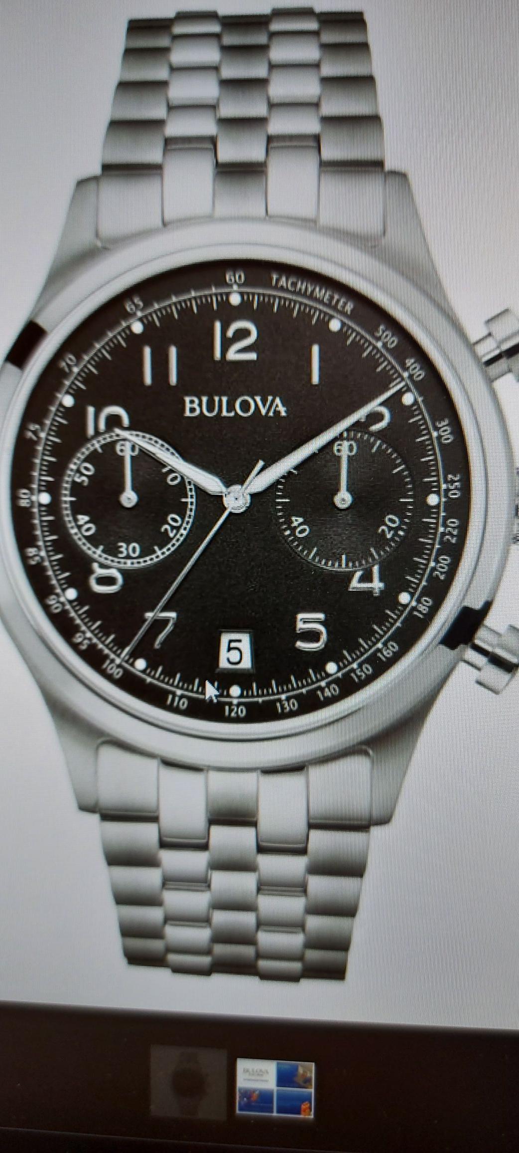 Zegarek Bulova Classic Chronograoh