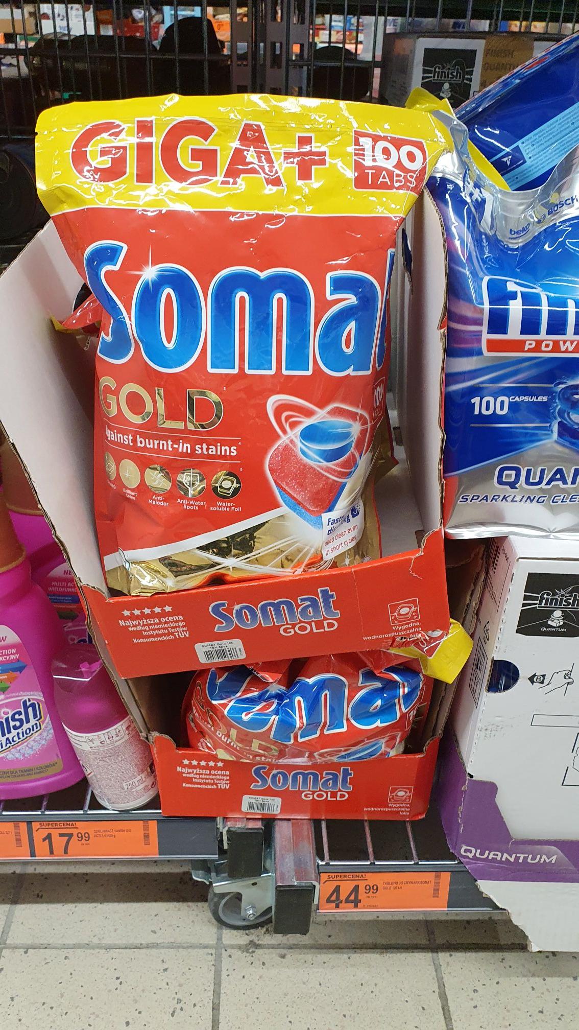 Somat Gold Tabletki do zmywarki GIGA+ XXL 100 szt