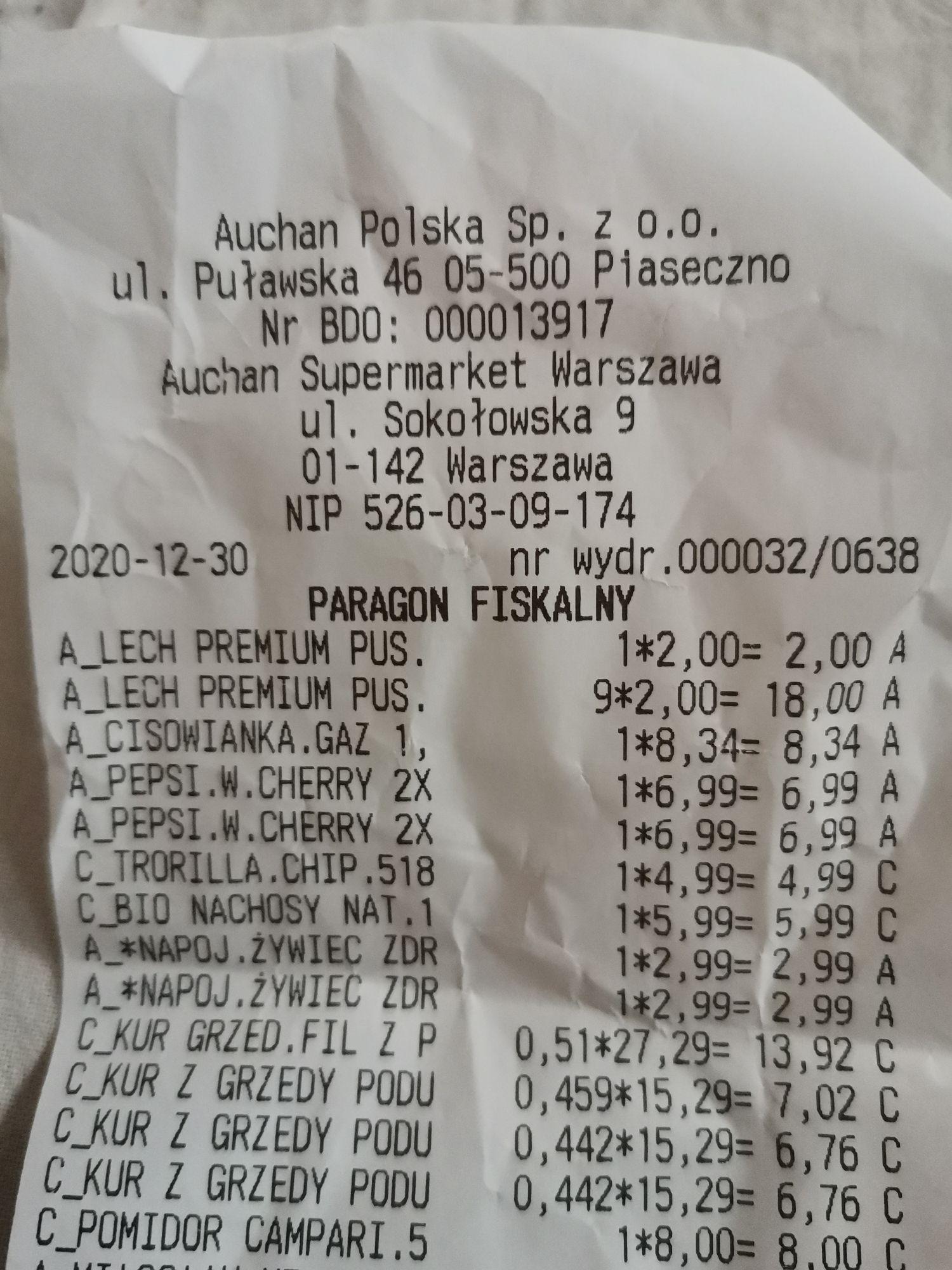Piwo Lech premium pils, puszka 500ml