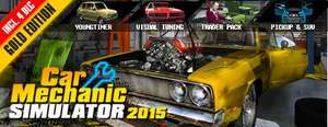 Car Mechanic Simulator gold 2015 Steam