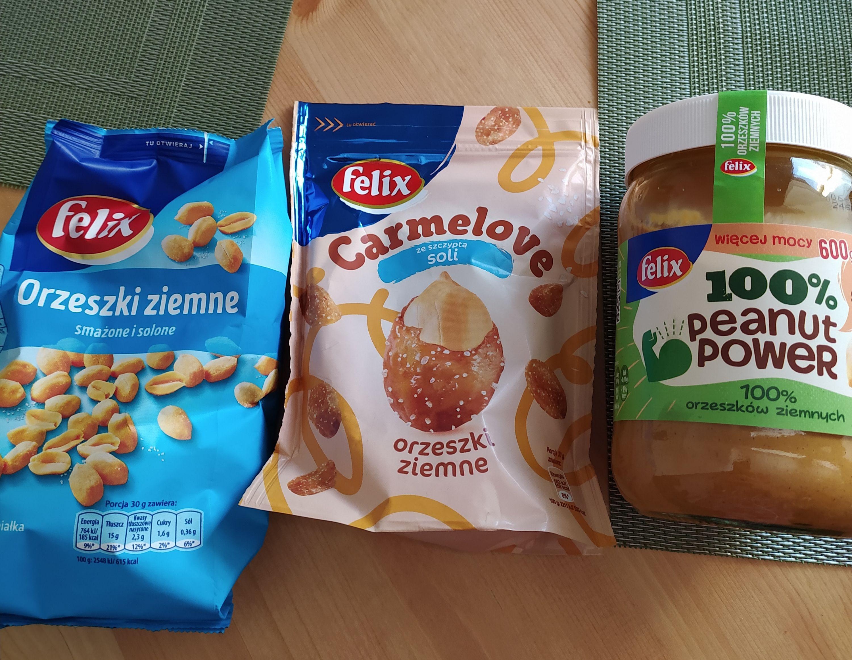 Pasta orzechowa i inne produkty Felix taniej w Lidlu