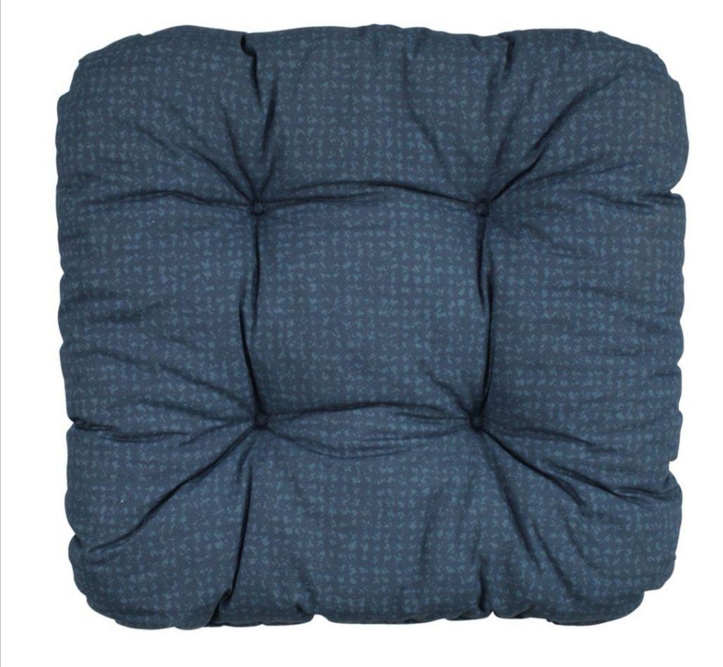 Poduszka na siedzisko krzesła HASSELURT 40x40x8 niebieska. (dostępna w 5 kolorach).