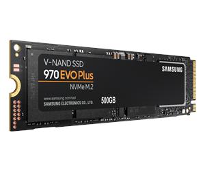 Samsung 970 EVO Plus SSD M.2 2280 - 500GB