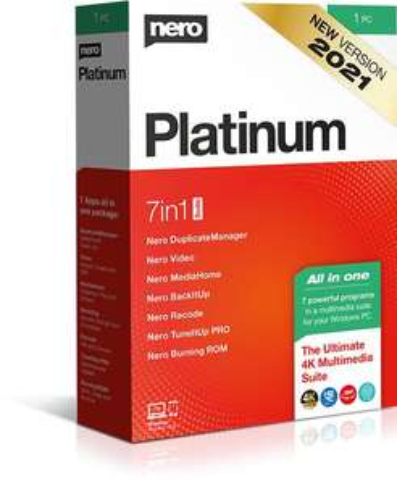 Nero Platinum Suite 2021 (Licencja stała) + prezenty