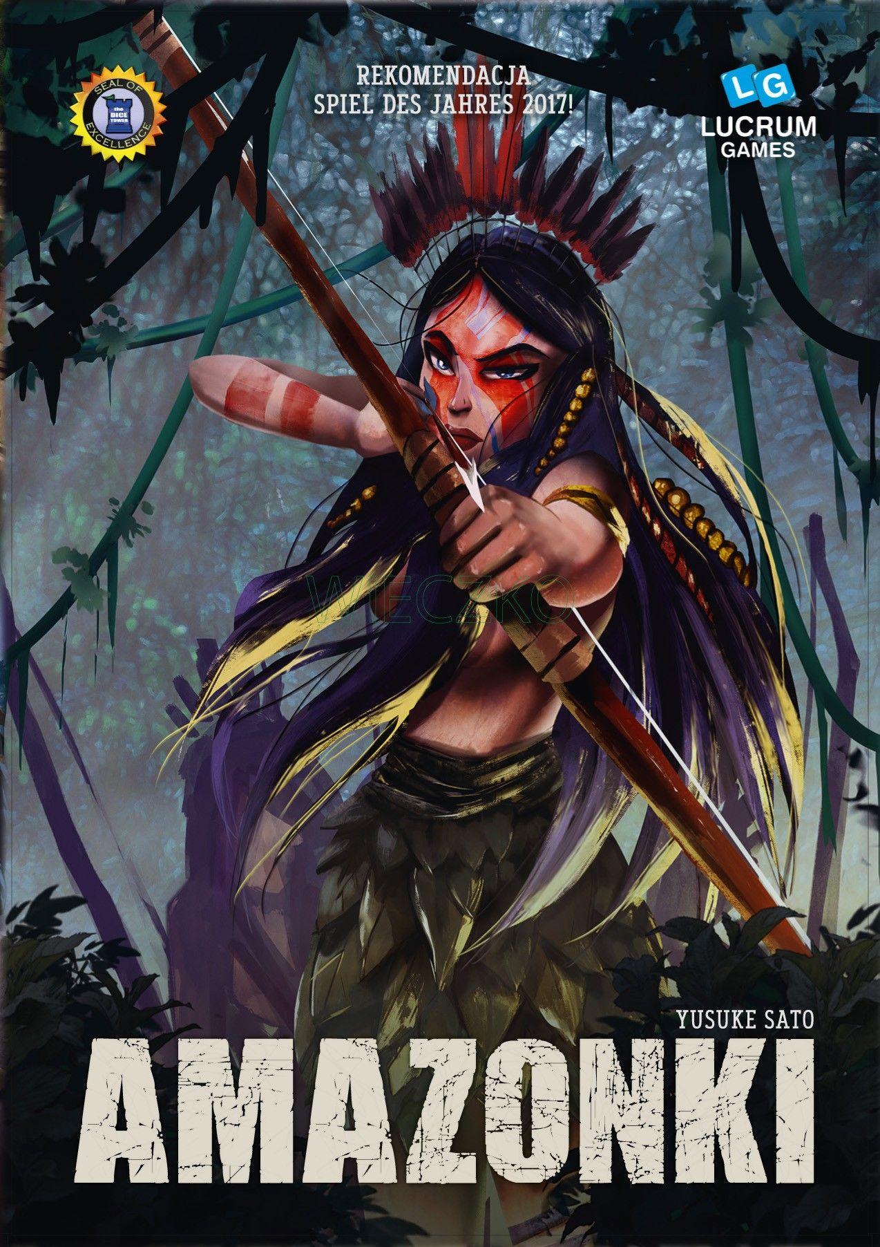 Amazonki, gra karciana