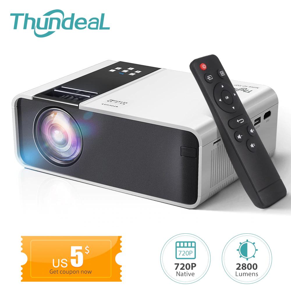 Tani projektor 720p dostawa z PL aliexpress